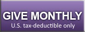 Make a monthy U.S. tax-deductible contribution to ETAN