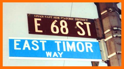 East Timor Way, NYC