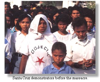 Santa Cruz demonstrators