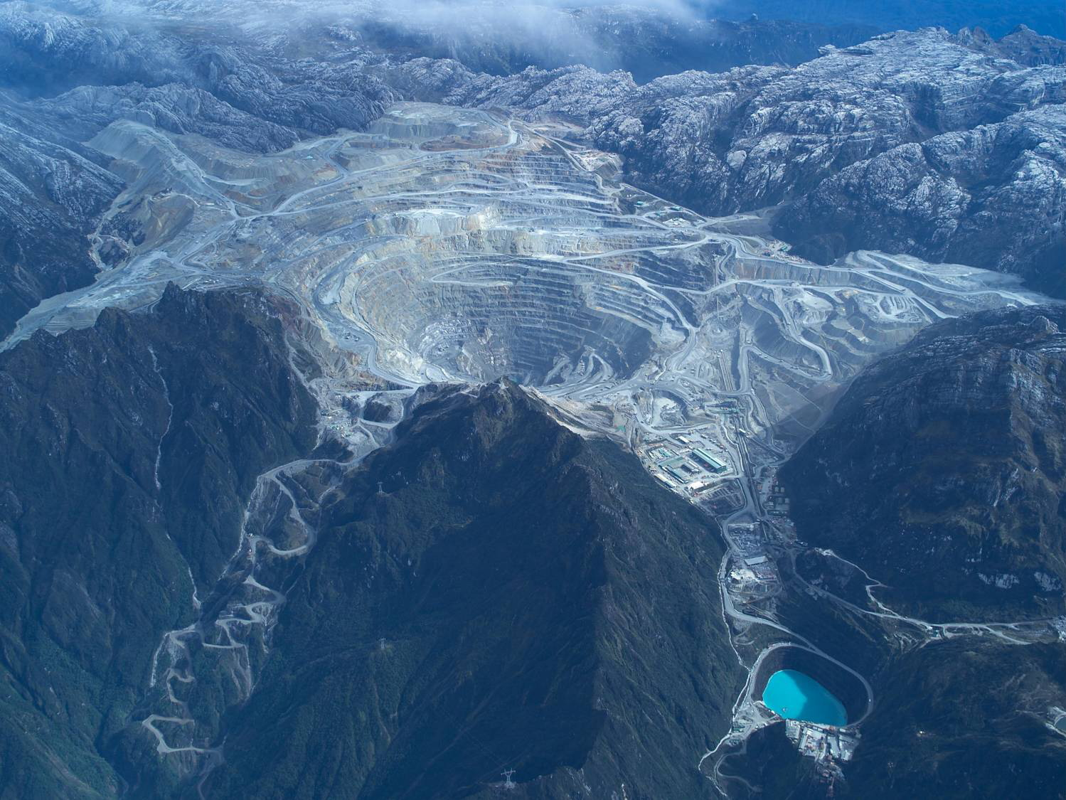 Freeport's Grasberg Mine.