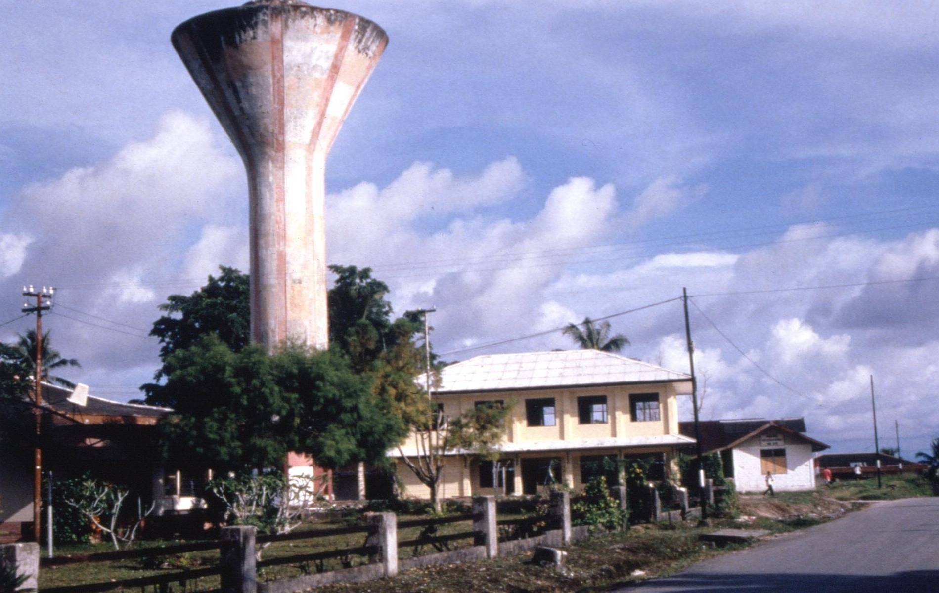 Water tower in Biak