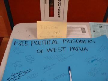 Support unconditional release of Papua political prisoners!