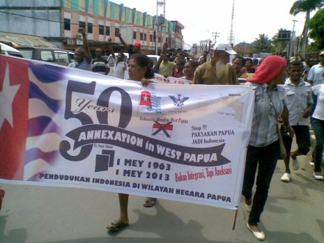 May 1 Demo in West Papua