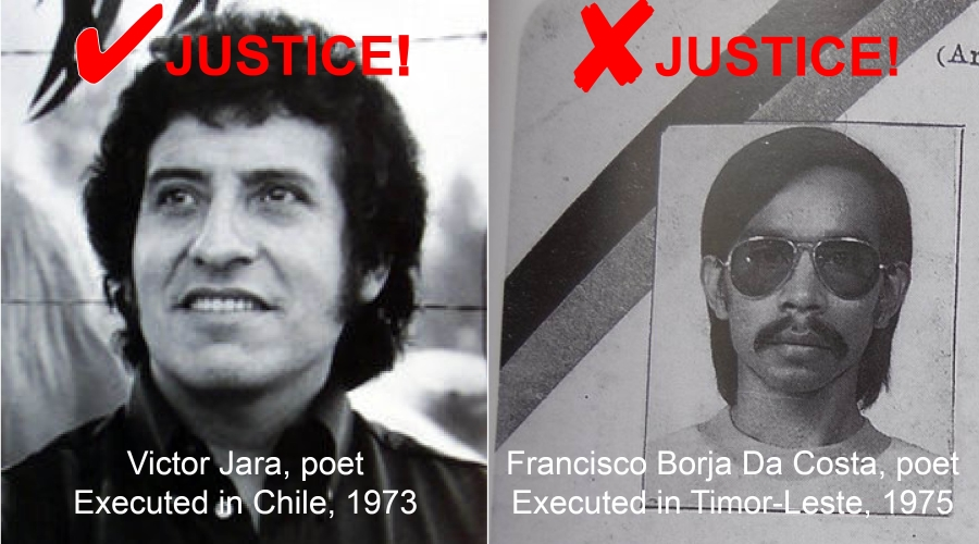 Victor Jara and Francisco Borja da Costa