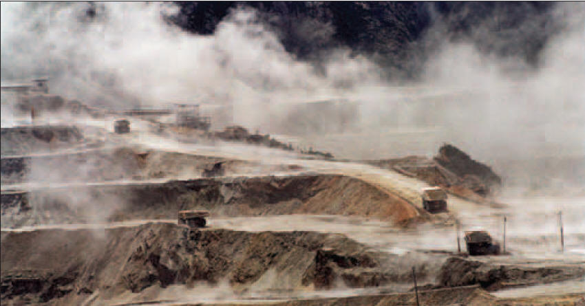 Freeport's Grasburg mine in West Papua