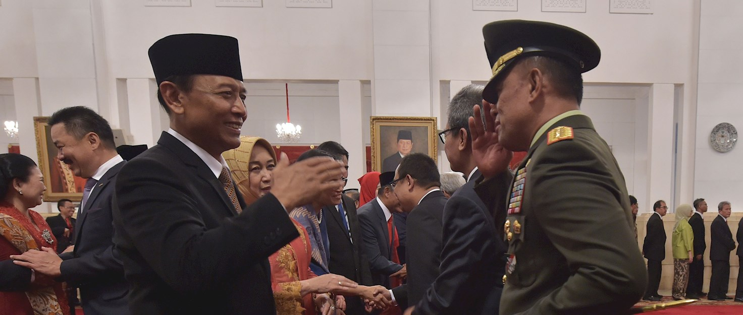 Wiranto with Jokowi July 2016