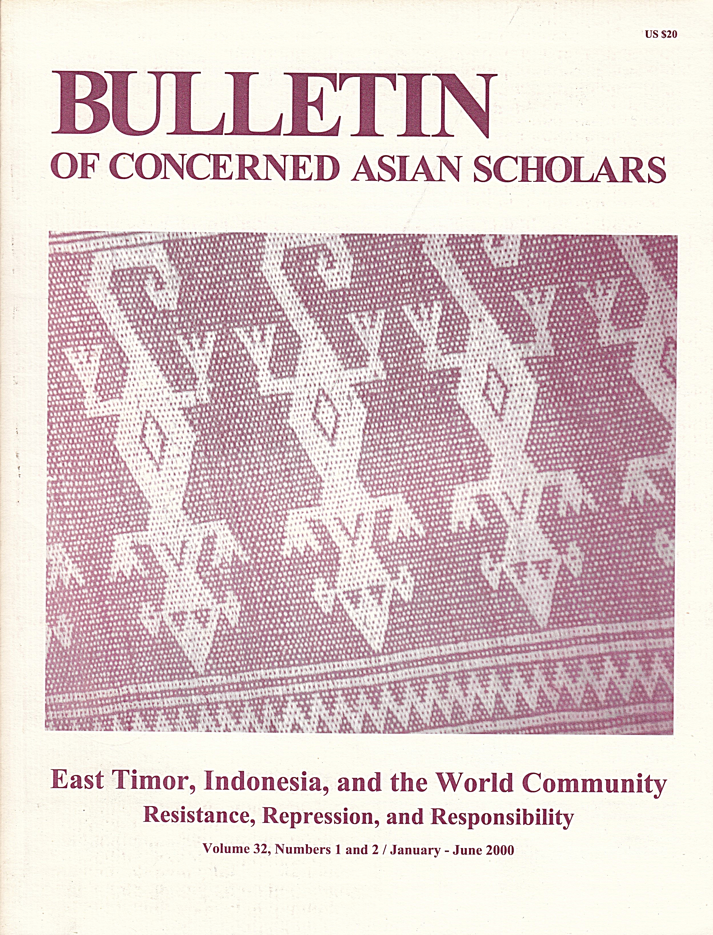 East Timor, Indonesia, and the World Community: Resistance, Repression, and Responsibility