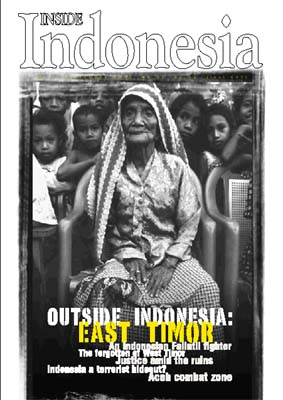 Outside Indonesia: East Timor