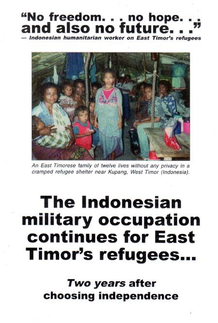 The Indonesian Military Occupation Continues