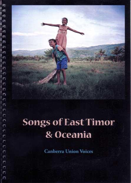 Songs of East Timor & Oceania